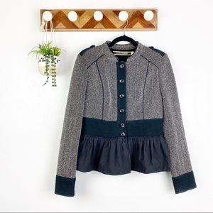 ANTHRO Daughters Of Liberation Tweed Button Jacket